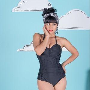 Tatyana Black One Piece Swimsuit
